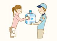 安全で安心の水をお届け